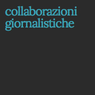 collaborazioni giornalistiche