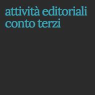 attività editoriali conto terzi